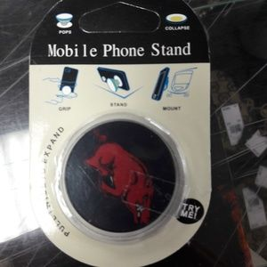 Other - Arkansas razorbacks pop socket phone stand NWT